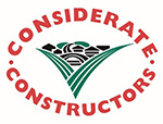 The Considerate Constructors Scheme logo