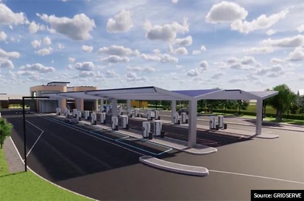 all-electric forecourt