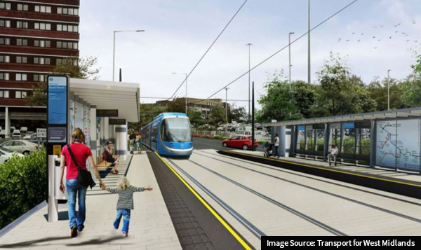 Image of Wednesbury to Brierley Hill Metro extension
