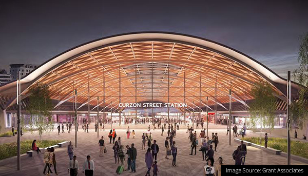 Image of Curzon Street Station Birmingham part of HS2 Phase 2a