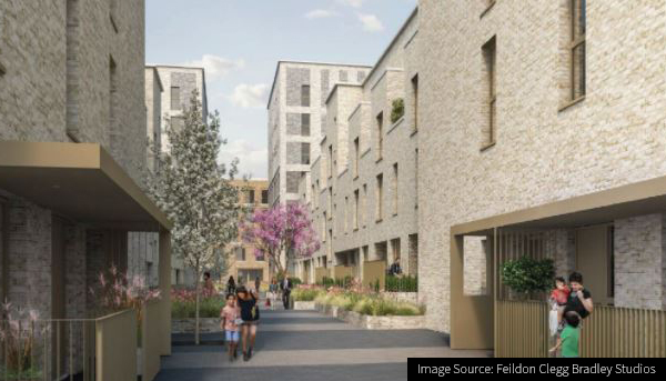 Image of the Gallions Quarter Development in Newham