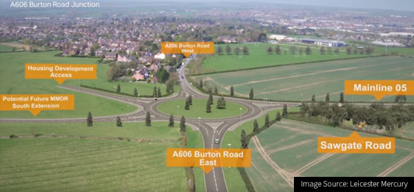 Image of the Melton Mowbray Distributor Road Infrastructure-construction project