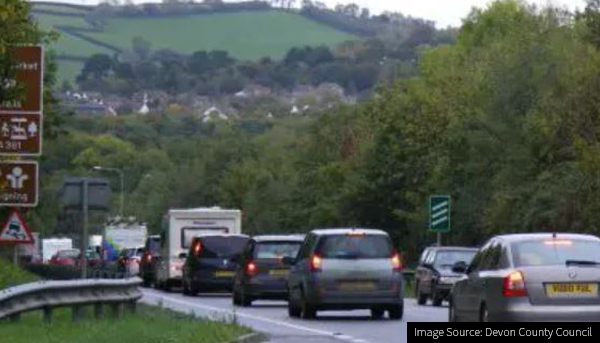 Image of the North Devon Link Road