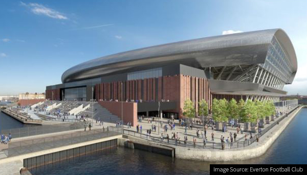 Everton Football Club - hotel and leisure construction